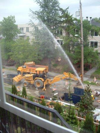Sewer repair gone wrong